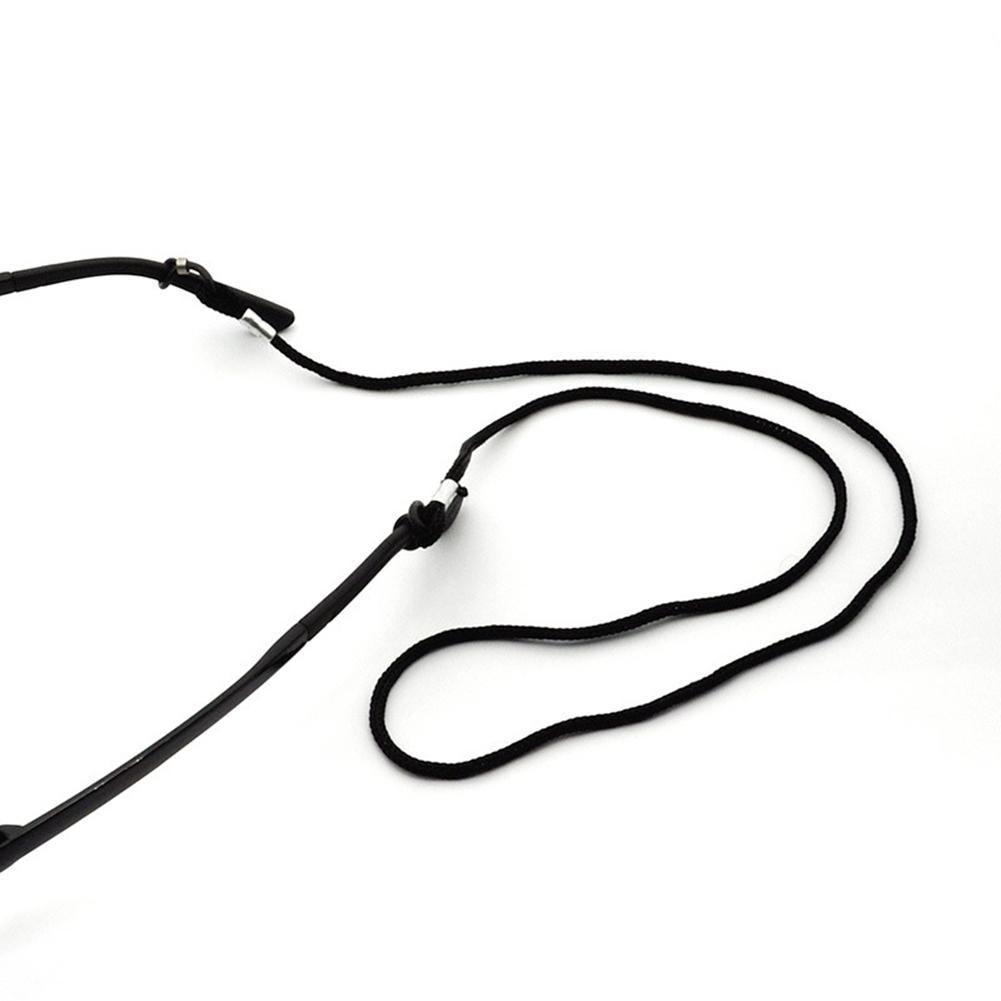 Nylon Cord Eyeglass/Sunglass Holder Chain Leash Adjustable Ends Black JWP0076 4