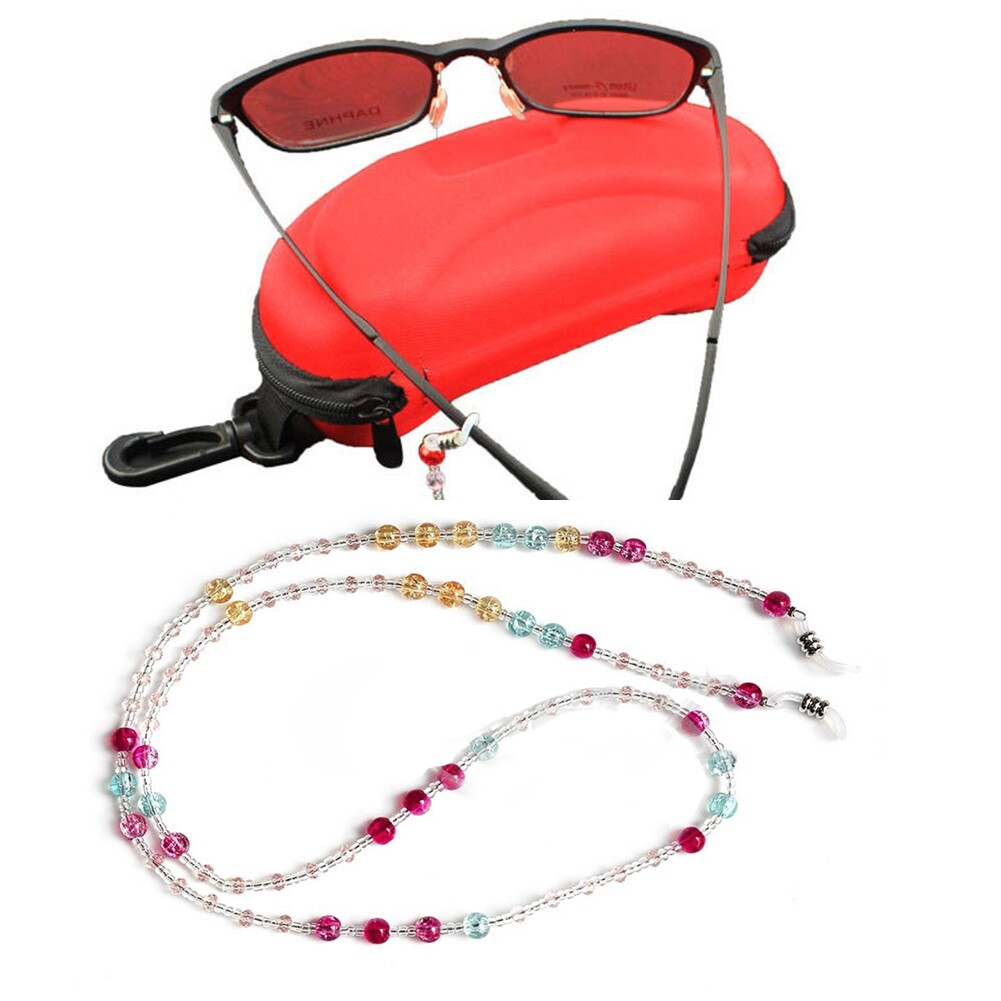 Beaded Glasses Sunglasses Spectacle Beads Chain Strap Cord Holder Neck NEW CA12276 0