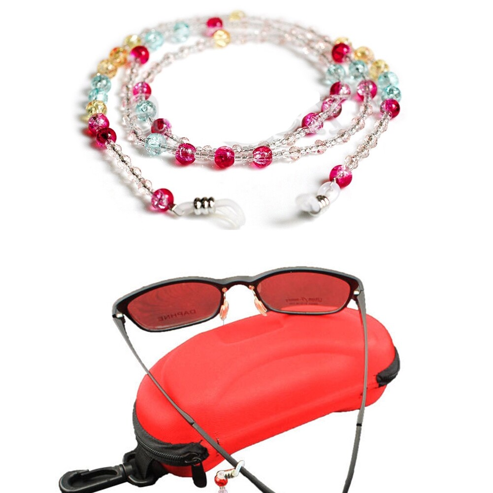 Beaded Glasses Sunglasses Spectacle Beads Chain Strap Cord Holder Neck NEW CA12276 1