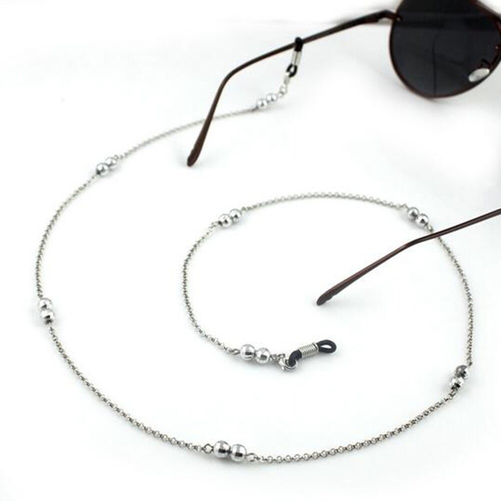 IMIXLOT Gold/Silver Color Casual Beaded Eyewear Sunglasses Neck Strap Rope Reading Glasses Chain Cord Holder JWP0013 4