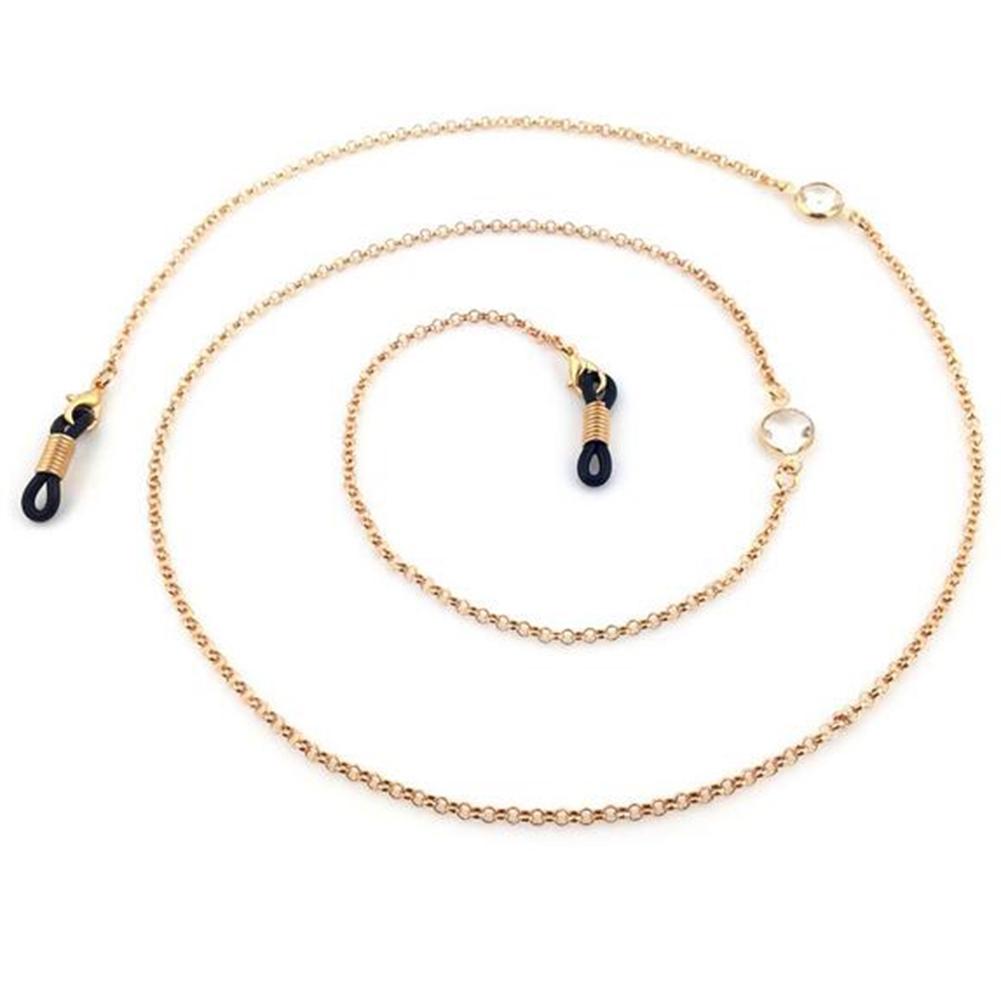 Imixlot Silver/Gold Vintage Metal Eyeglass Chain Eyewears Sunglasses Reading Glasses Chain Cord Holder Neck Strap Rope JWP0016 2