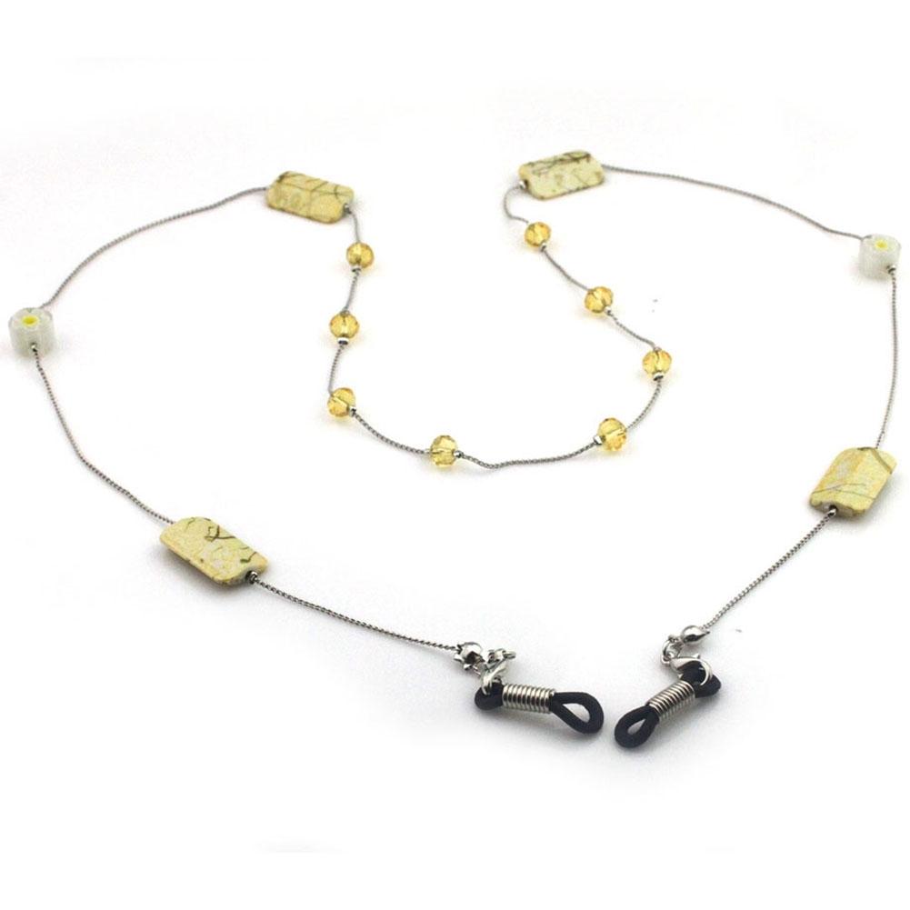 IMIXLOT High Quality Amethyst Eyeglass Eyewears Sunglasses Reading Glasses Chain Cord Holder Neck Strap Rope JWP0002 10