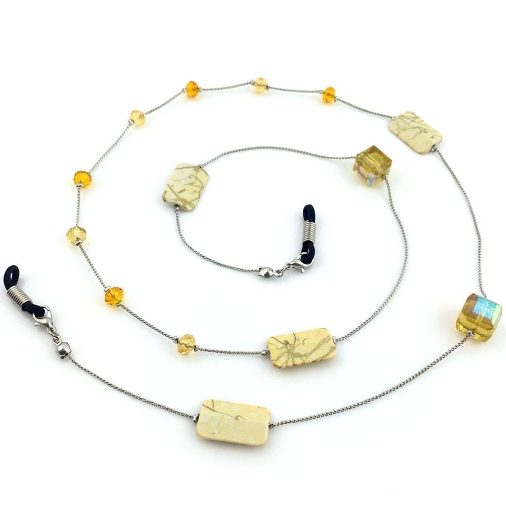 IMIXLOT High Quality Amethyst Eyeglass Eyewears Sunglasses Reading Glasses Chain Cord Holder Neck Strap Rope JWP0002 11