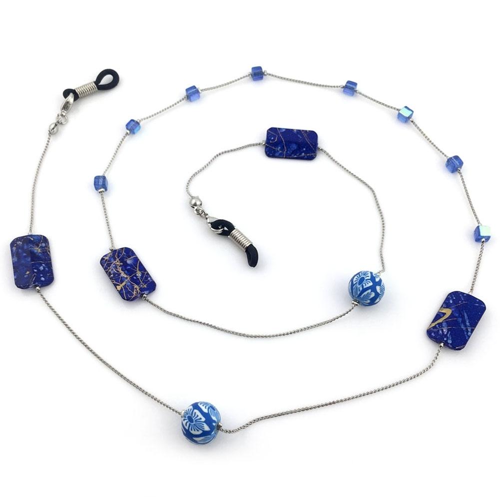 IMIXLOT High Quality Amethyst Eyeglass Eyewears Sunglasses Reading Glasses Chain Cord Holder Neck Strap Rope JWP0002 14