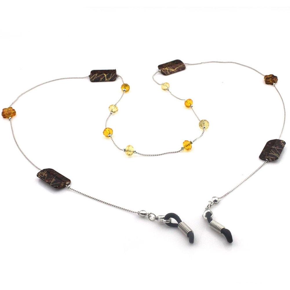 IMIXLOT High Quality Amethyst Eyeglass Eyewears Sunglasses Reading Glasses Chain Cord Holder Neck Strap Rope JWP0002 15