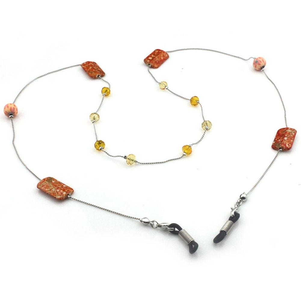 IMIXLOT High Quality Amethyst Eyeglass Eyewears Sunglasses Reading Glasses Chain Cord Holder Neck Strap Rope JWP0002 16