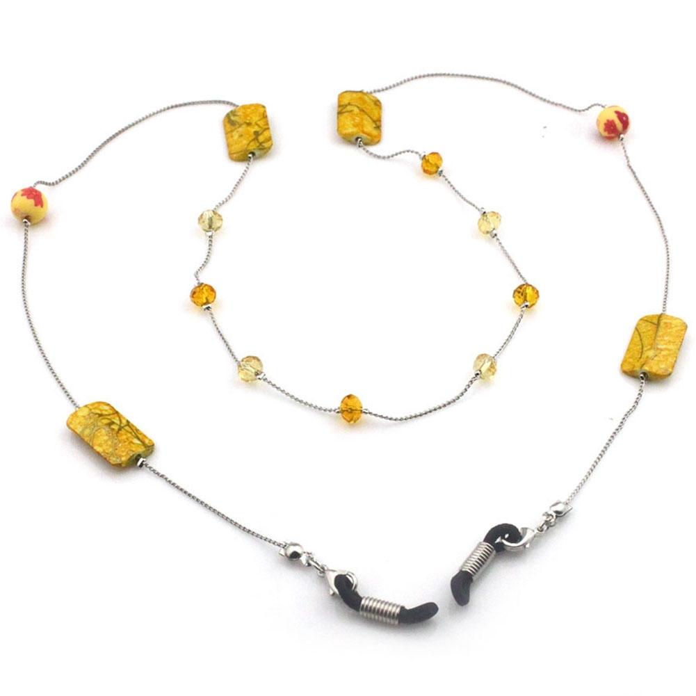 IMIXLOT High Quality Amethyst Eyeglass Eyewears Sunglasses Reading Glasses Chain Cord Holder Neck Strap Rope JWP0002 6