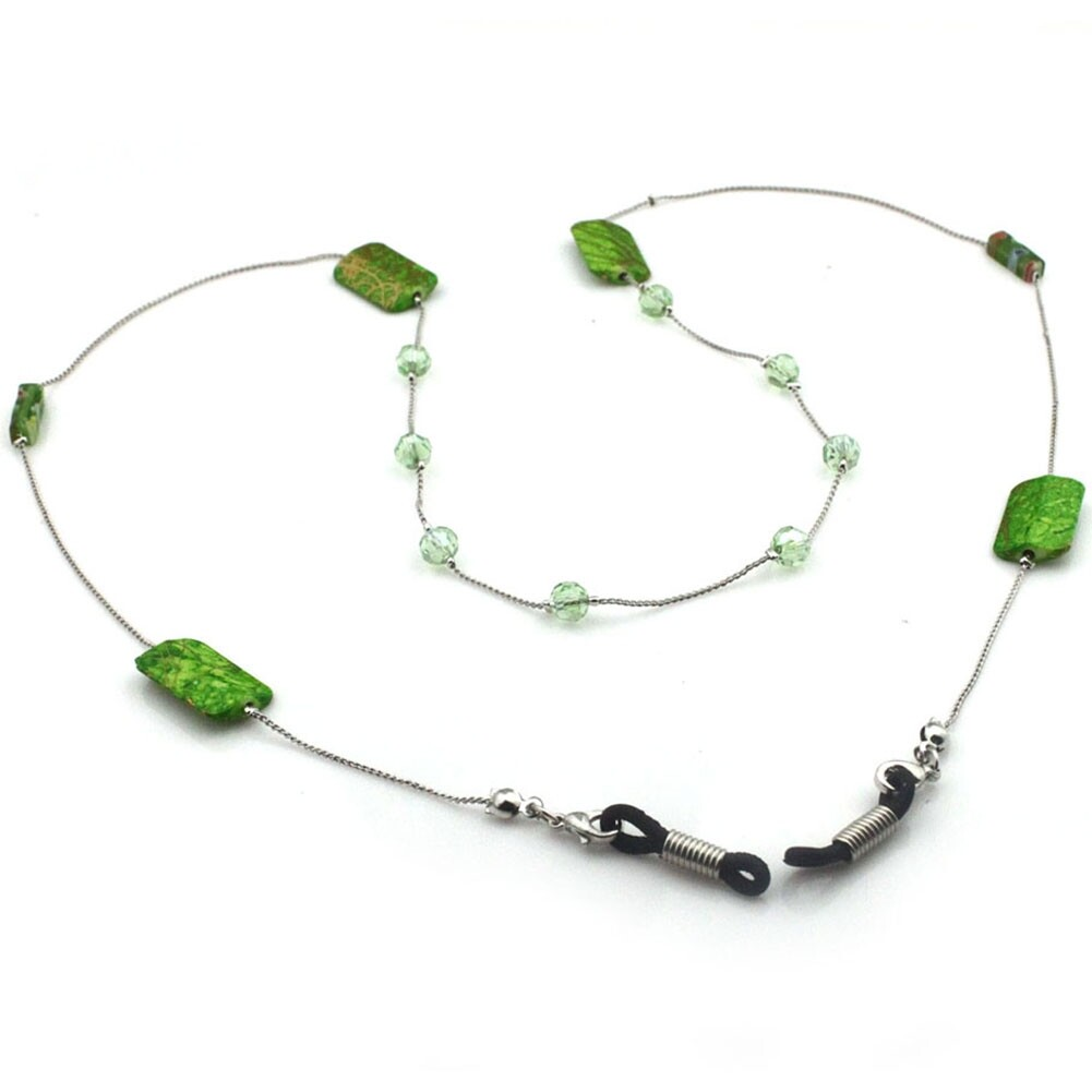 IMIXLOT High Quality Amethyst Eyeglass Eyewears Sunglasses Reading Glasses Chain Cord Holder Neck Strap Rope JWP0002 7