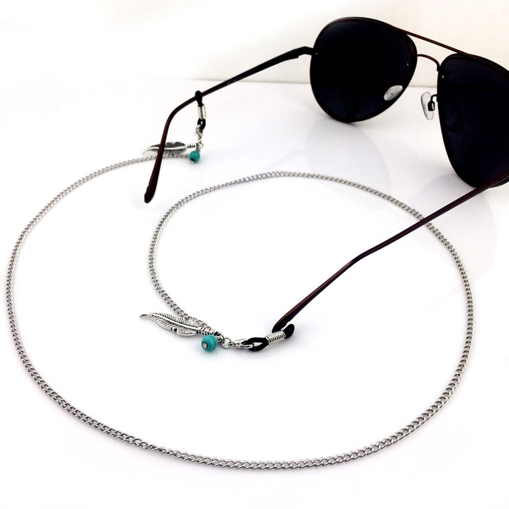Mixed Eyeglasses Strap 61cm Reading Glasses Chain Spectacles Sunglasses Eyewear Chain Neck Cord Strap Rope JWP0003 1