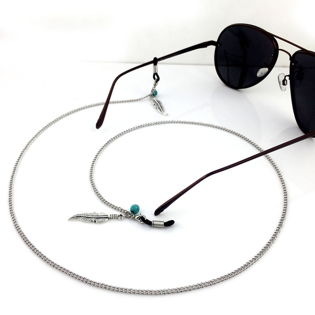 Mixed Eyeglasses Strap 61cm Reading Glasses Chain Spectacles Sunglasses Eyewear Chain Neck Cord Strap Rope JWP0003 4