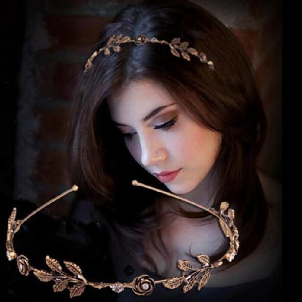 Fashion Women Lady Rhinestone Head Chain Jewelry Headband Head Piece Hair Band JHE0003 0