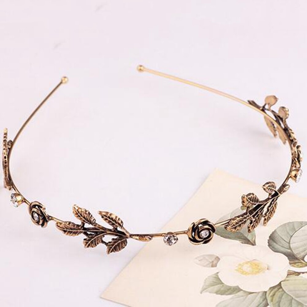 Fashion Women Lady Rhinestone Head Chain Jewelry Headband Head Piece Hair Band JHE0003 2