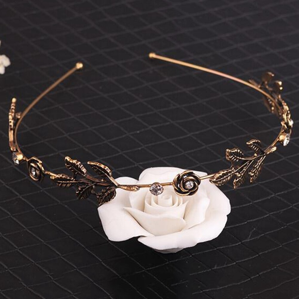 Fashion Women Lady Rhinestone Head Chain Jewelry Headband Head Piece Hair Band JHE0003 3