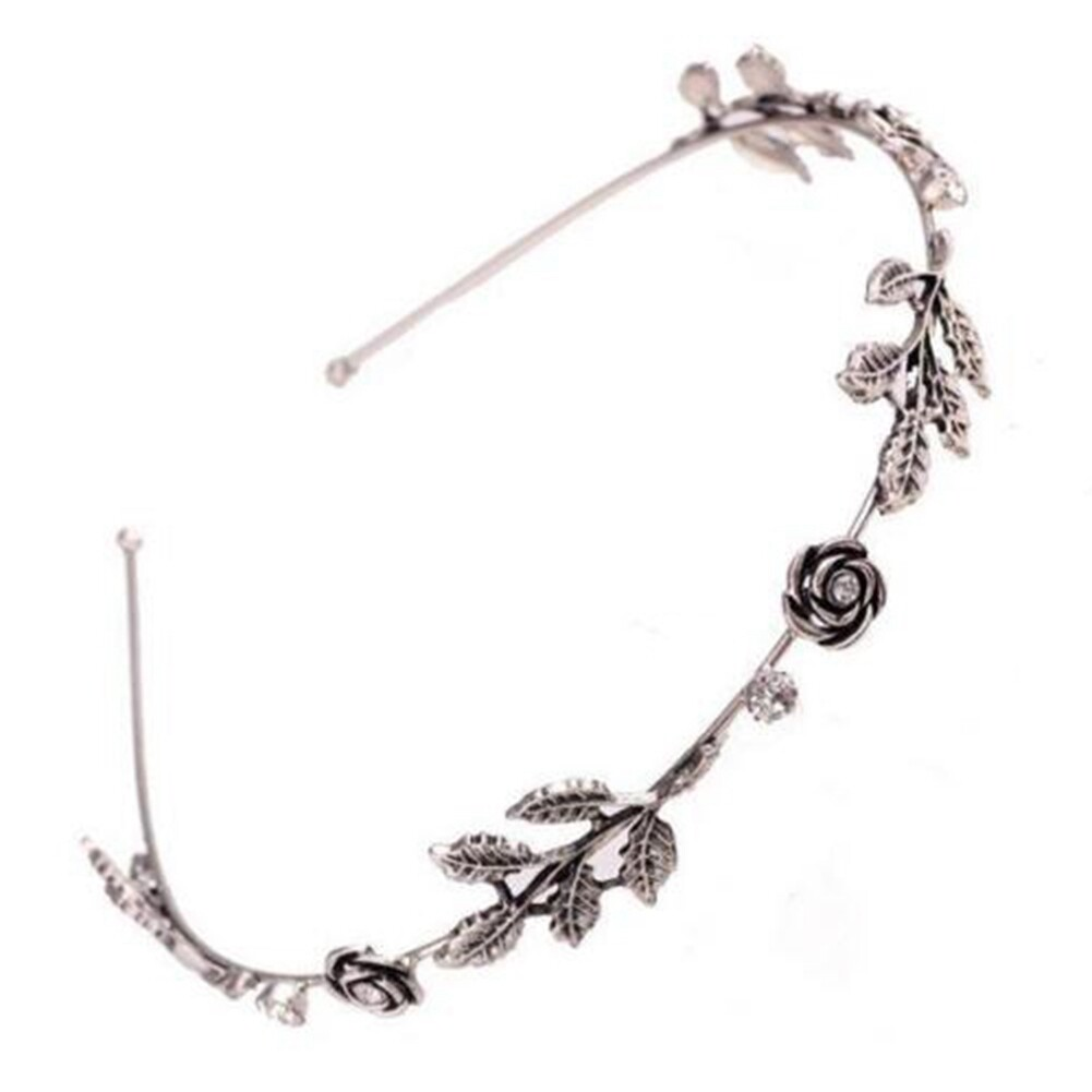 Fashion Women Lady Rhinestone Head Chain Jewelry Headband Head Piece Hair Band JHE0003 4