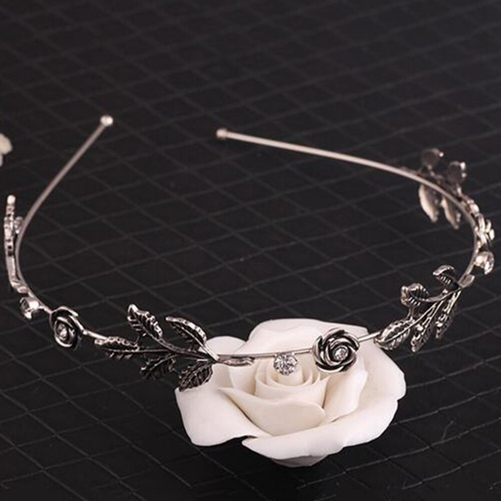 Fashion Women Lady Rhinestone Head Chain Jewelry Headband Head Piece Hair Band JHE0003 5