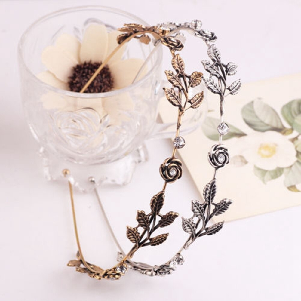 Fashion Women Lady Rhinestone Head Chain Jewelry Headband Head Piece Hair Band JHE0003 6