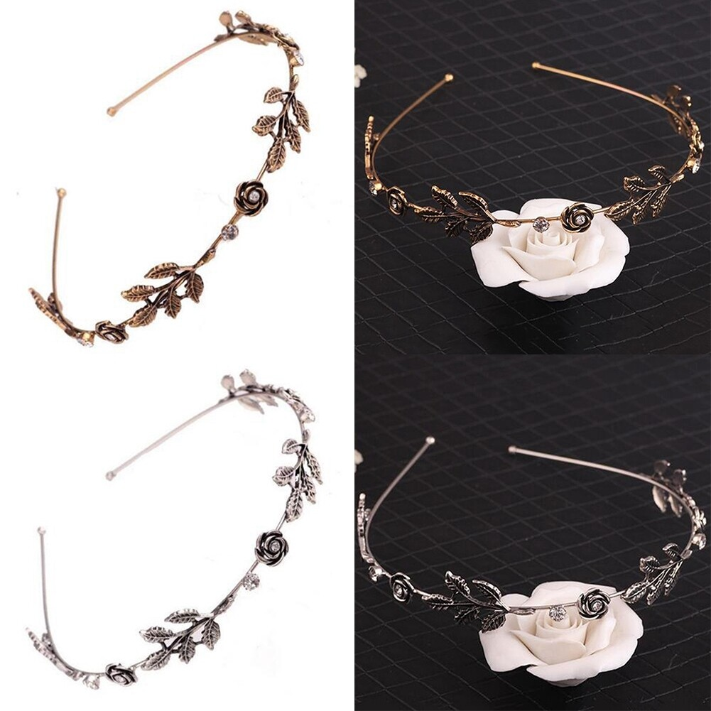 Fashion Women Lady Rhinestone Head Chain Jewelry Headband Head Piece Hair Band JHE0003 7