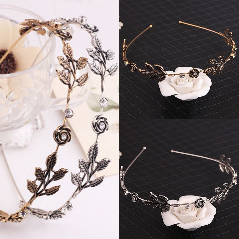 Fashion Women Lady Rhinestone Head Chain Jewelry Headband Head Piece Hair Band JHE0003 8