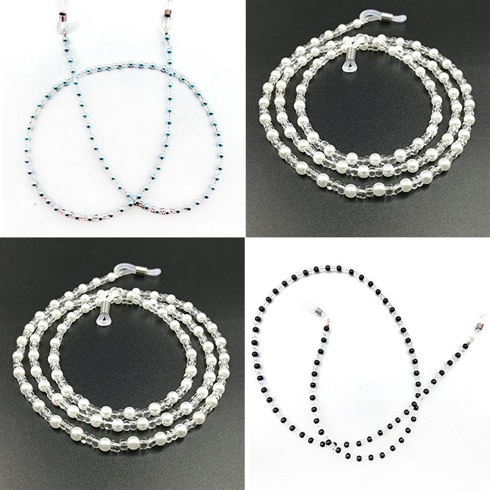Fashion Bead Eyeglass Cord Glasses Anti-skid Eyewear Spectacles Chain Holder NEW JWP0163 8