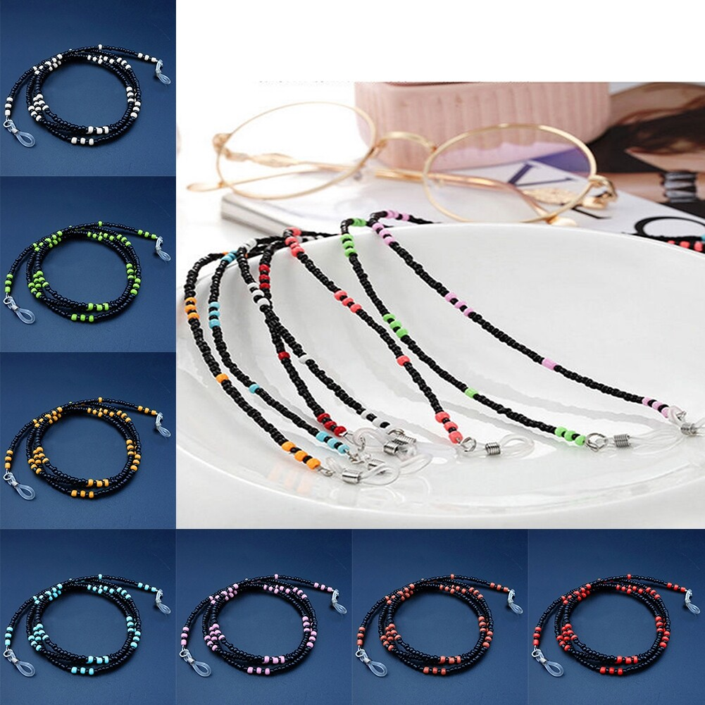 High-End Beaded Glasses Rope Glasses Chain Sunglasses Snow Chain Bracket Chain JWP0165 10