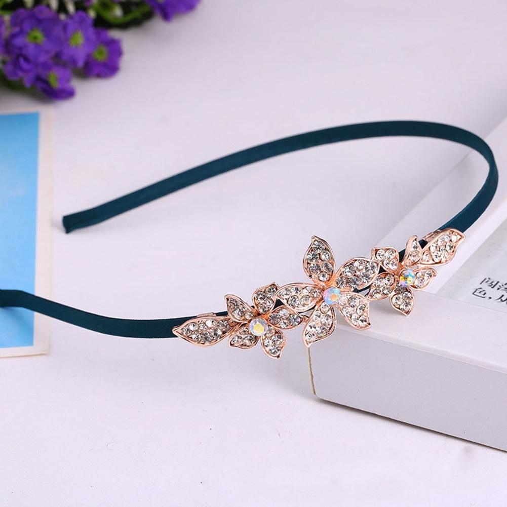 Women Fashion Crystal Rhinestone Head Jewelry Headband Headpiece Hair Band JHE0043 4