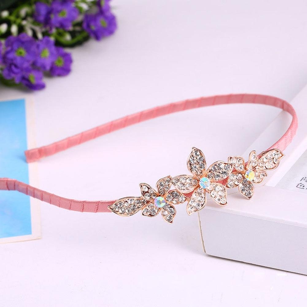 Women Fashion Crystal Rhinestone Head Jewelry Headband Headpiece Hair Band JHE0043 5