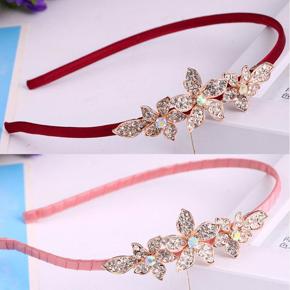 Women Fashion Crystal Rhinestone Head Jewelry Headband Headpiece Hair Band JHE0043 9