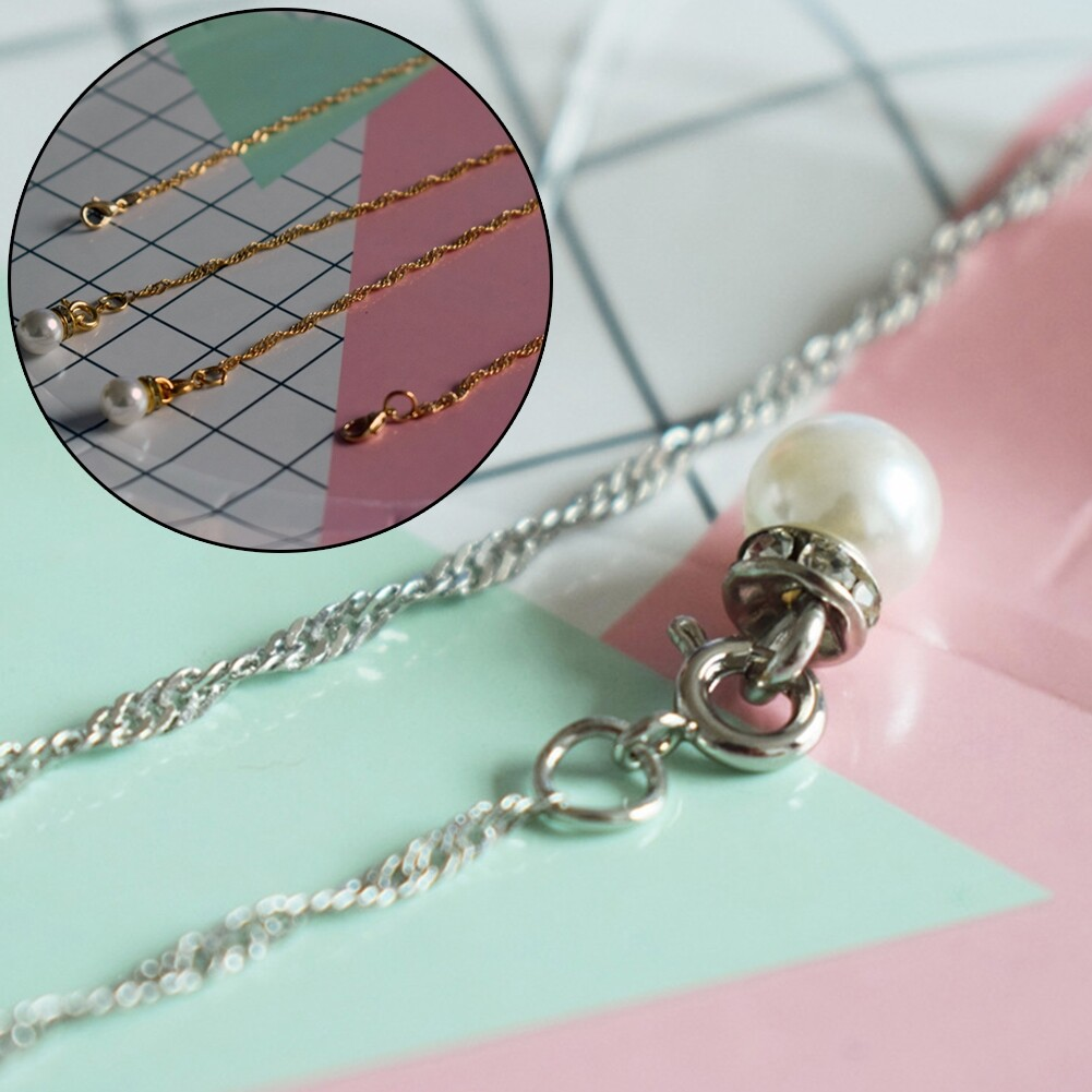 Best Selling Glasses Hanging Chain Pearl Chain Double Buckle Chain Fashion Sunglasses Chain JWP0218 8