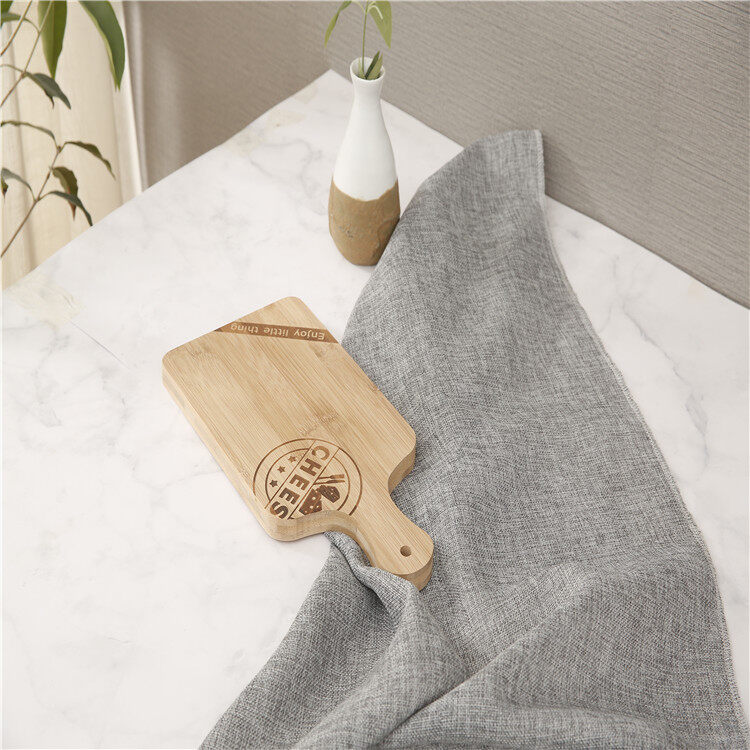 Food Safe Factory Price Kitchen Wooden Bamboo Paddle Cutting Boards Pizza Peel Boards 1
