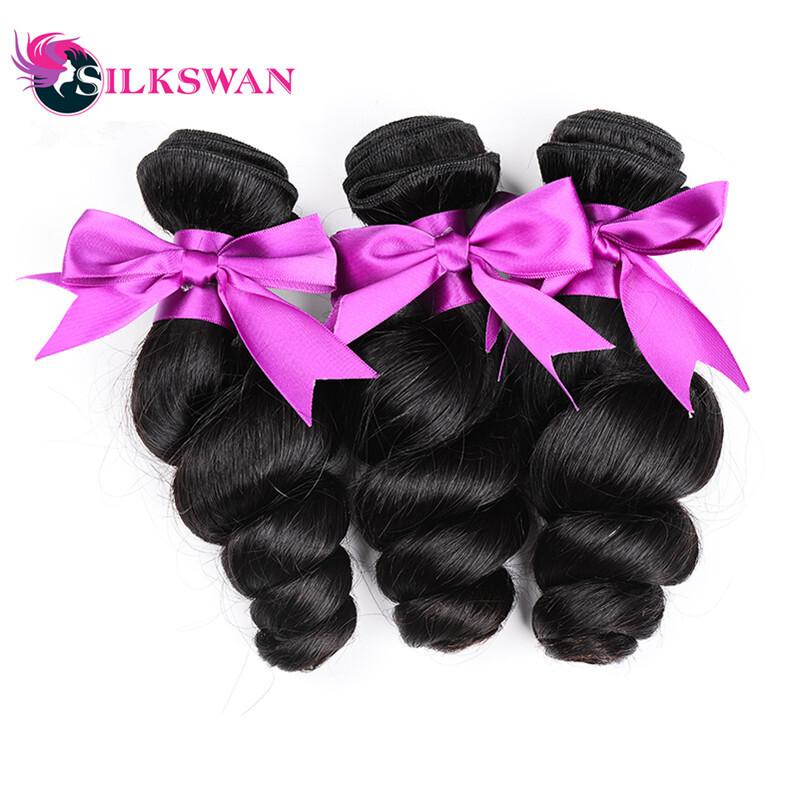 Silkswan Brazilian Body Waving Hair Extensions 100 Human Hair