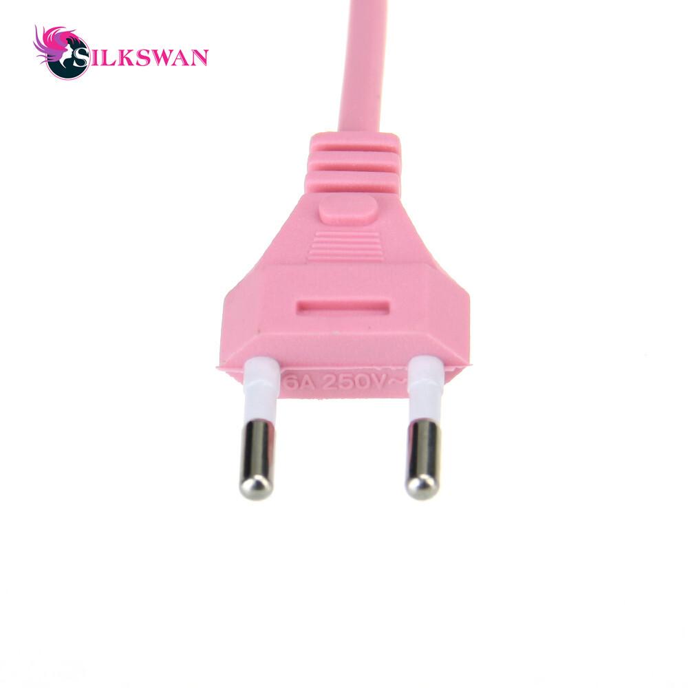 Hair straightener Pink Ceramic Straightening Corrugate Curling Iron Styling Tool 1