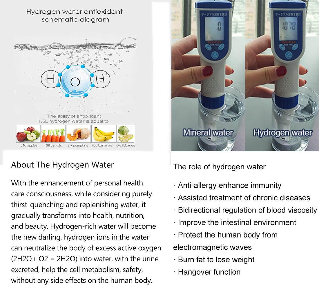 hydrogen water Ionizer