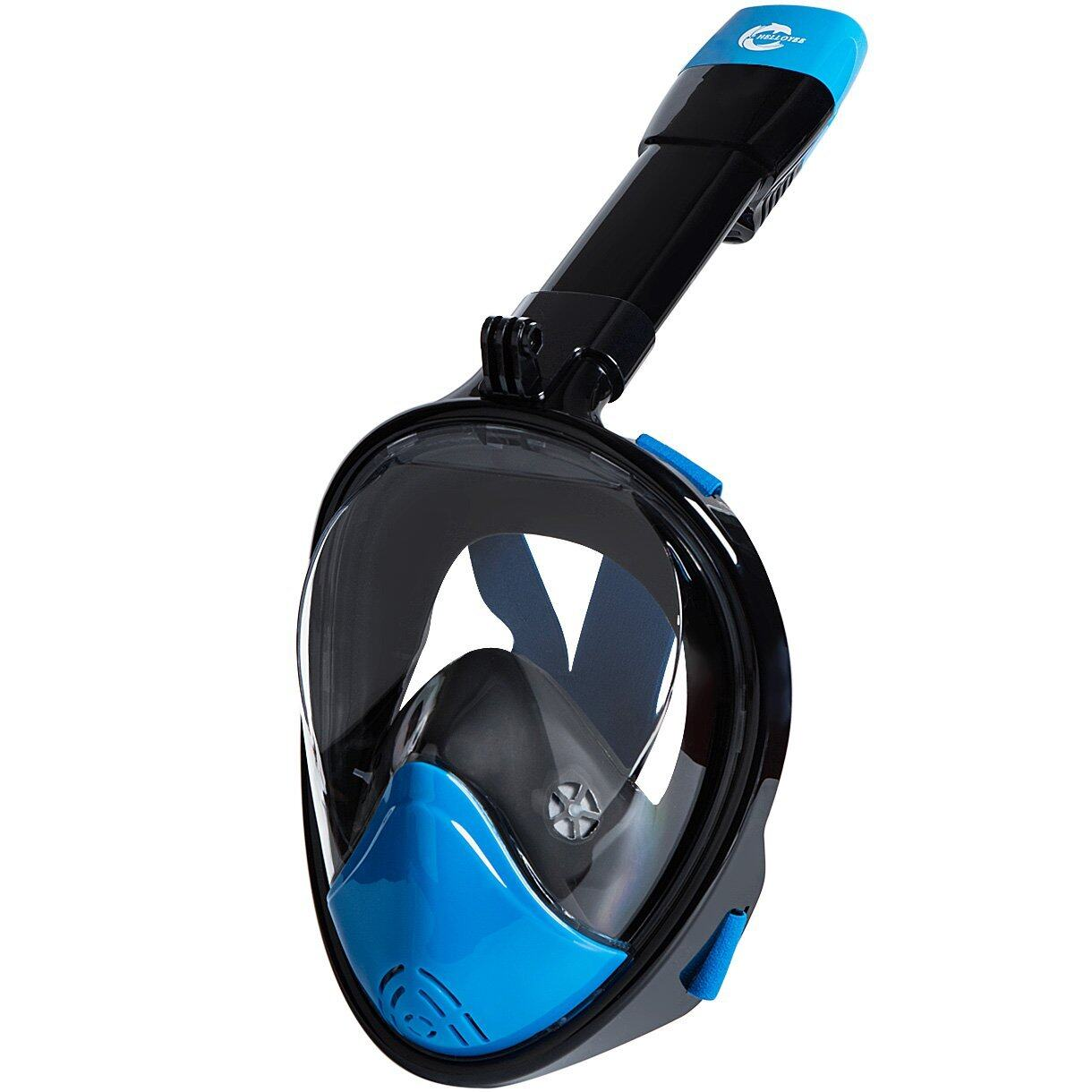 HELLOYEE Full Face Snorkel Mask 180° Panoramic View Breathe Free For Adults And Kids 4