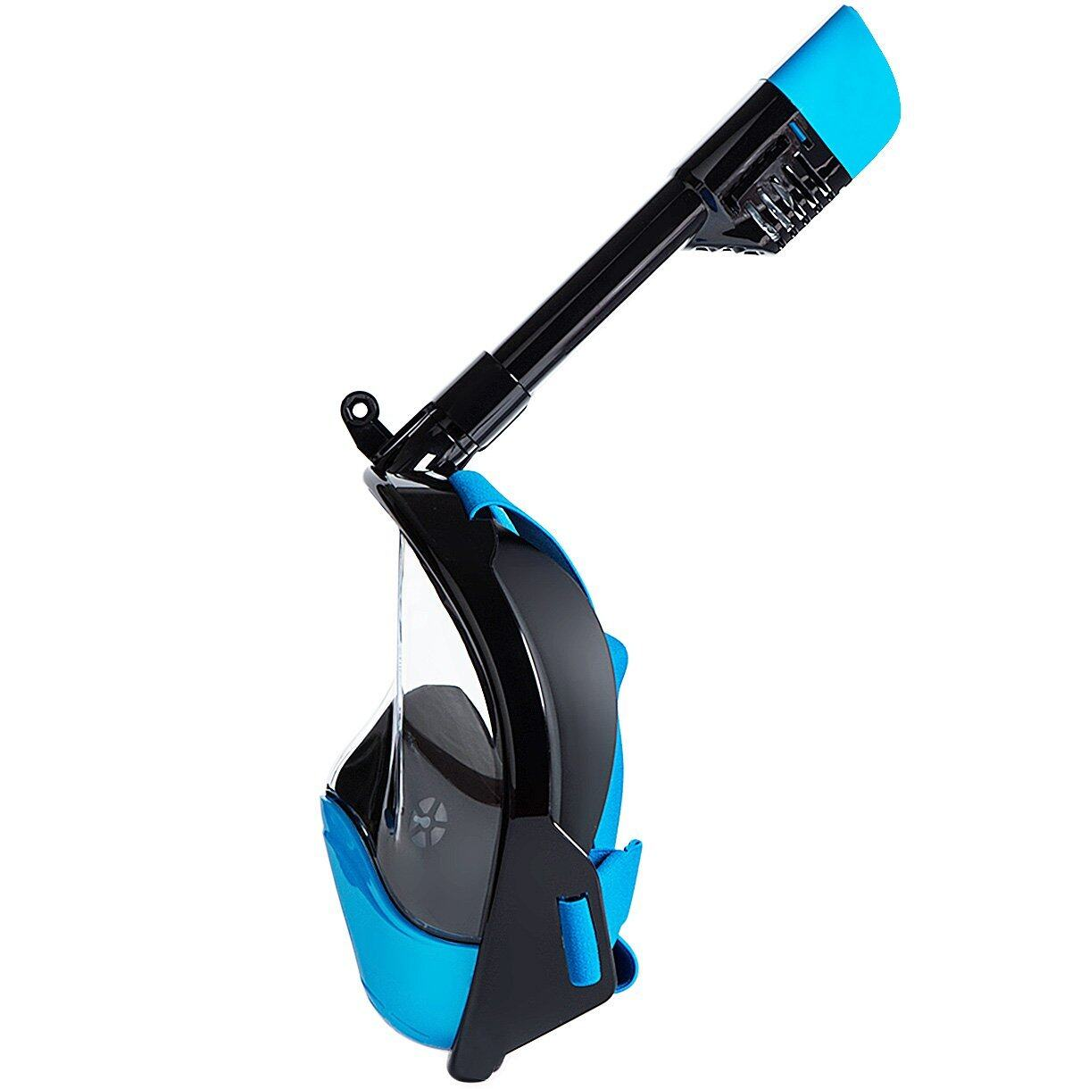 HELLOYEE Full Face Snorkel Mask 180° Panoramic View Breathe Free For Adults And Kids 5