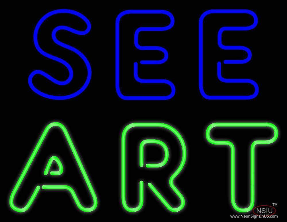 see art real neon glass tube neon sign. Black Bedroom Furniture Sets. Home Design Ideas