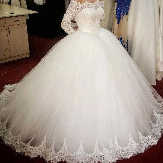 Charming Ball Gown White Wedding Dress