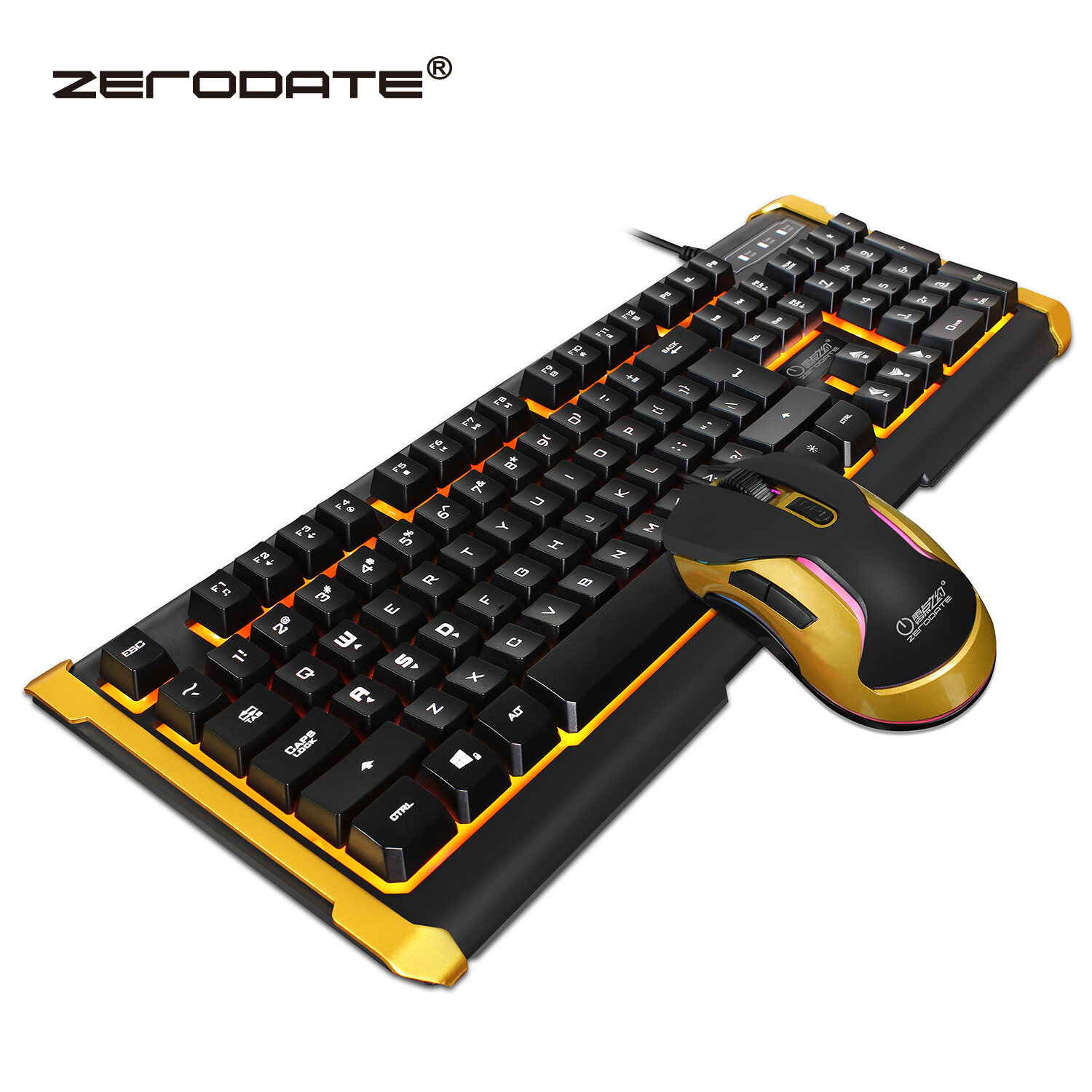 Aninimal Book: Wried Gaming Keyboard and Mouse Combo Regular Mechanical ...