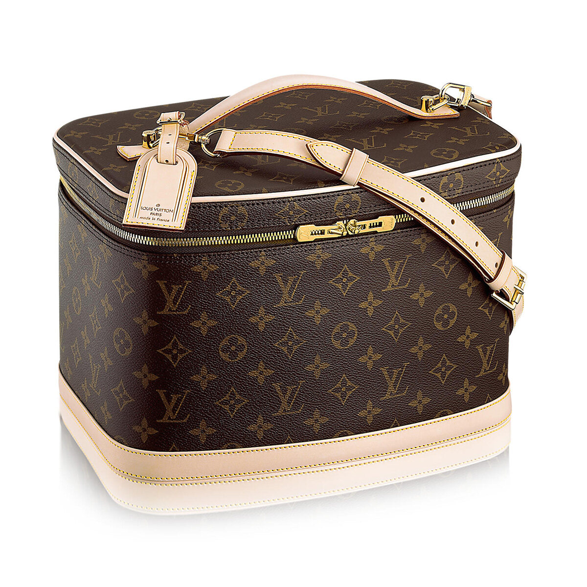 Louis Vuitton Makeup Bag Monogram Cosmetic Handbag Vanity
