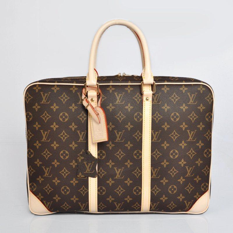 Lv Bags Whole Louis Vuitton Monogram Porte Doents Voyage Business Bag Men Laptop Handbag M40226
