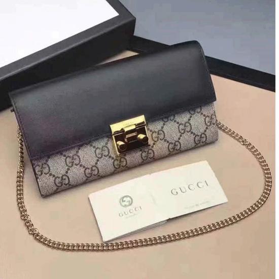 ed9645979fb Gucci mini bag Padlock continental gucci wallet china aaa gucci wallet  cheap 453506
