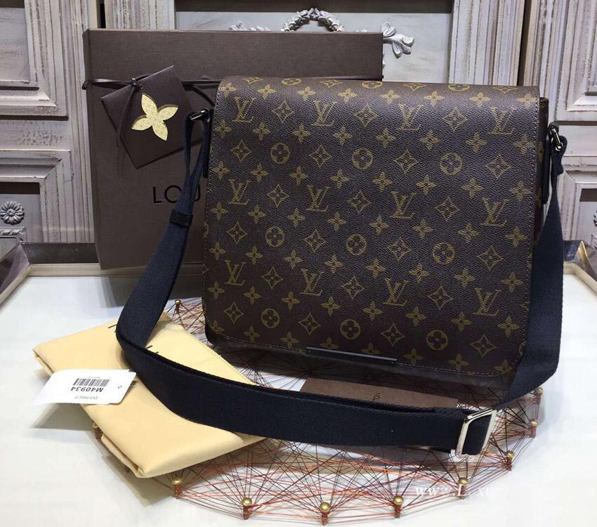 fe67610c1855 LV messenger bag lv man bag louis vuitton crossbody bag men replica bags lv  monogram Macassar  LV messenger ...