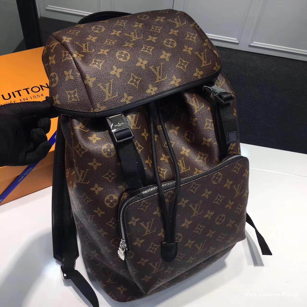 Lv Backpack Lv Man Bag Zack Louis Vuitton Brown Bag Lv Monogram Macassar Replica Bags Lv Bags