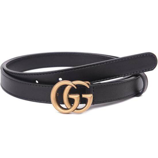 a1efeb5313d9 Gucci double g belt ladies gucci leather belt new thin gucci belt women  female girls small ...