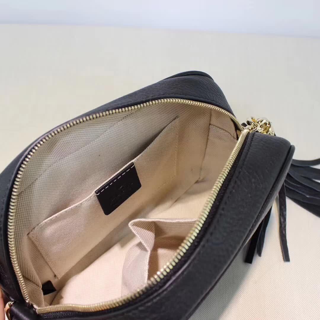 53a2ee915f5 Cheap Gucci soho disco bag camera crossbody purse black cross body ...