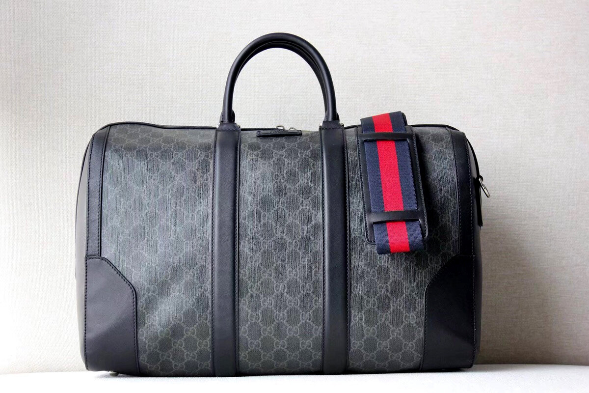 Gucci Mens Duffle Bag Gg Supreme Carry On Luggage Suitcase Cheap Gucci Travel Man Bag Designer