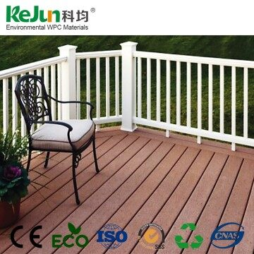 Water Resistant Antique Hollow Composite Decking Board