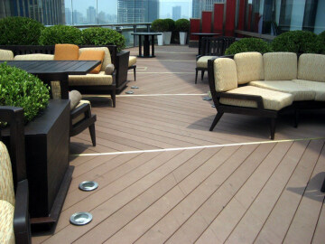 Easily installed Hot sale cheap terrace composite solid wood flooring