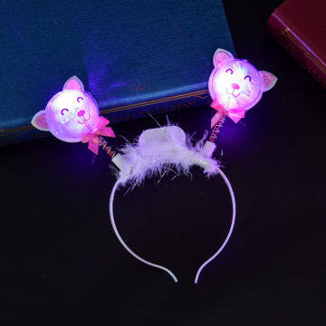 2020 New LED Cat Ear Headband Party Gifts for girls