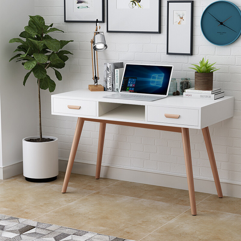 HG0293 White Scandinavian Style Modern Bedroom Dressing Tables Makeup Home  Office Desks