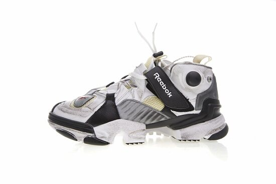 Vetements X Reebok Genetically Modified Pump Sneakers cf6e630fb